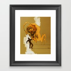 Creature Concept Framed Art Print