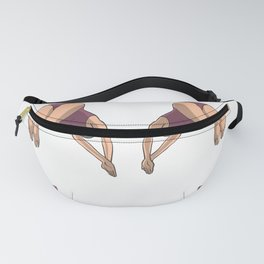 Synchronous high diving women Fanny Pack