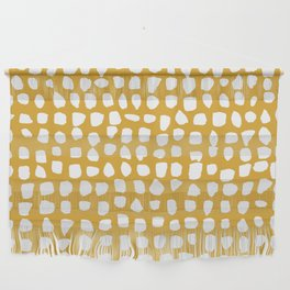 Dots / Mustard Wall Hanging