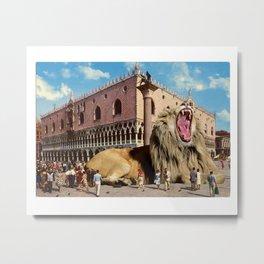 The Lion of San Marco Metal Print
