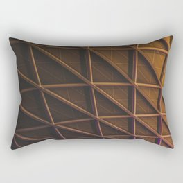 Fire Curve Rectangular Pillow