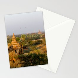 Bagan Sunrise Stationery Cards