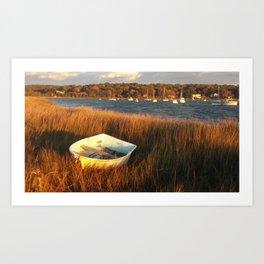 North Shore Harbor Art Print