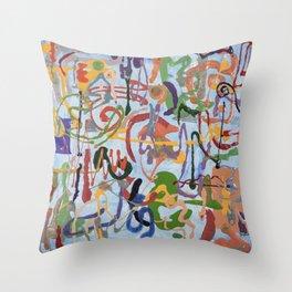 Shamanic Painting 03 Throw Pillow