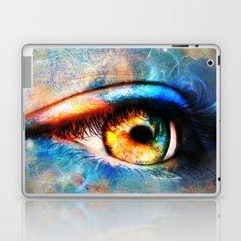 Through the Time Travelers Eye Laptop & iPad Skin