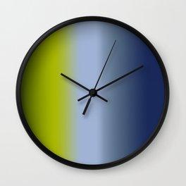 Ombre Summer Breeze 1 Wall Clock