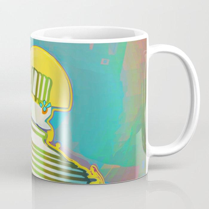PAWN / White / Chess Coffee Mug