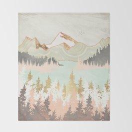 Winter Bay Throw Blanket