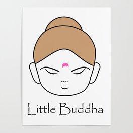 Cute little Buddha Poster