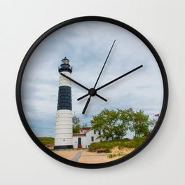 Big Sable Point Lighthouse - Lake Michigan Wall Clock