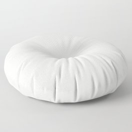 Cream on White Mandala Circle of Life Floor Pillow