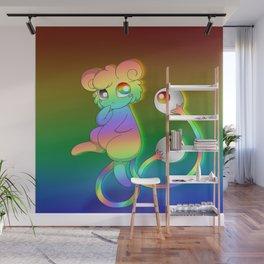 Eyesore Rainbow Wall Mural