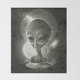 Alien II Throw Blanket