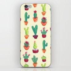 Cacti Pattern iPhone Skin