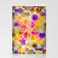 candy Stationery Cards featuring Candy by SensualPatterns