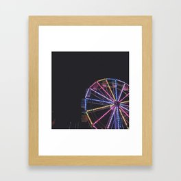 Iowa State Fair 2018 - Ferris Wheel Framed Art Print