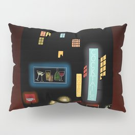 Late Night Neon Lights Pillow Sham