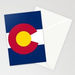 Colorado State Flag Stationery Cards