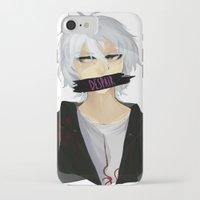 dangan ronpa iPhone & iPod Cases featuring Nagito Komaeda -Super Dangan Ronpa 2- by Xizeta