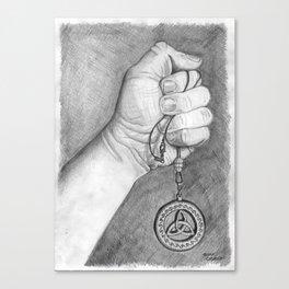 """""""Celtic Pendant"""" Canvas Print"""