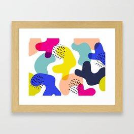 Fluorescent Adolescent Framed Art Print