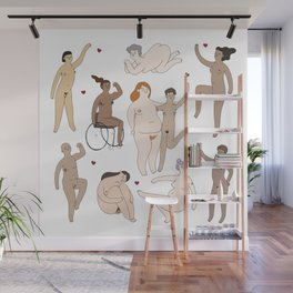All Women Are Beautiful Wall Mural
