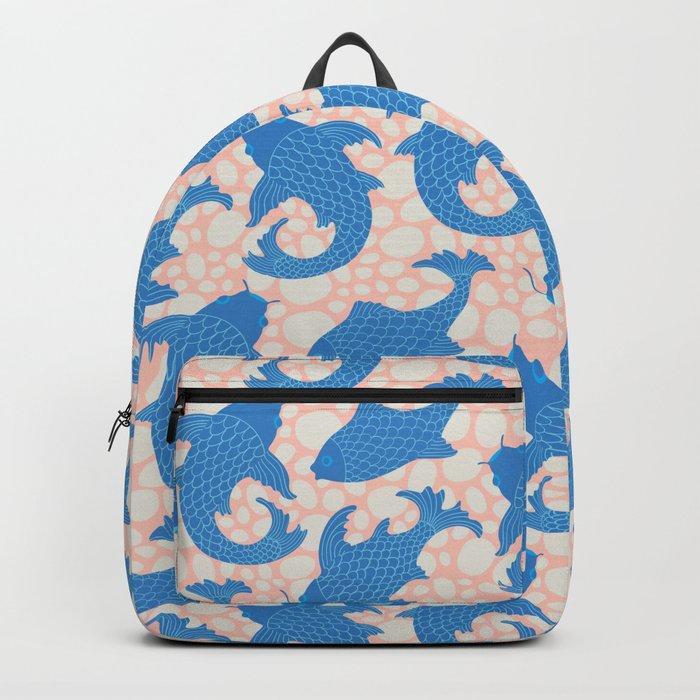 KOI Pattern Backpack