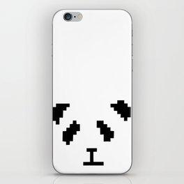 Pixel Panda iPhone Skin
