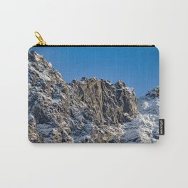 Fresh Snow-Alaskan Mountain Top Carry-All Pouch