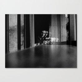 Shadow photographer 3 Canvas Print