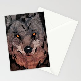 Wolf Mother Stationery Cards