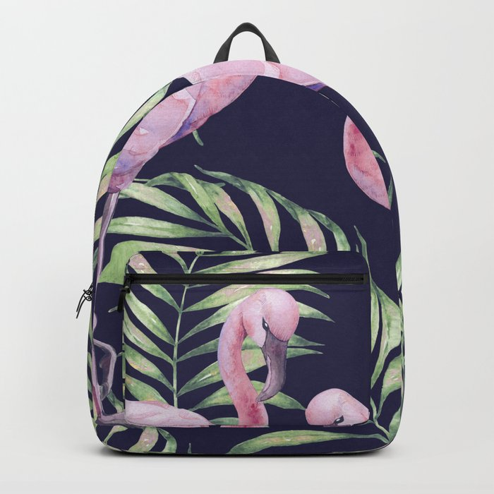 Flamingos #society6 Backpack