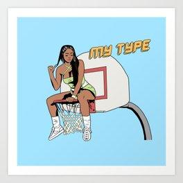 My Type Art Print