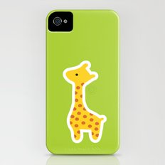 Giraffe iPhone (4, 4s) Slim Case