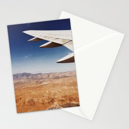 Flight Over Vegas Stationery Cards
