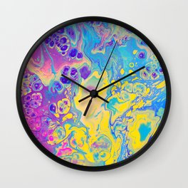 Unicorn Vibes Wall Clock