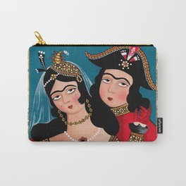 Qajar Dynasty Carry-All Pouch
