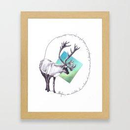 THEODOR S. Framed Art Print