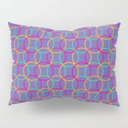 Colorful rings Pillow Sham
