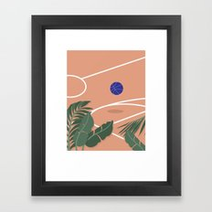 Basketball Breeze Framed Art Print