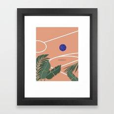 Basketball Breeze Framed Art Print