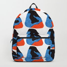 pattern with abstract figures Backpack
