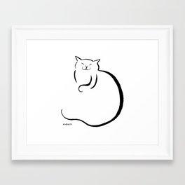 sleep orb Framed Art Print