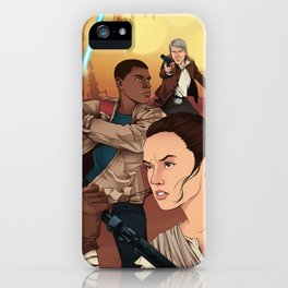 The Force Awakens: Light Side iPhone Case