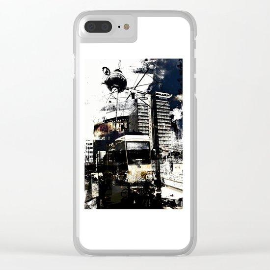 Berlin Art Clear iPhone Case