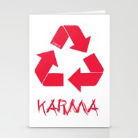 karma Stationery Cards featuring KARMA by ARTITECTURE