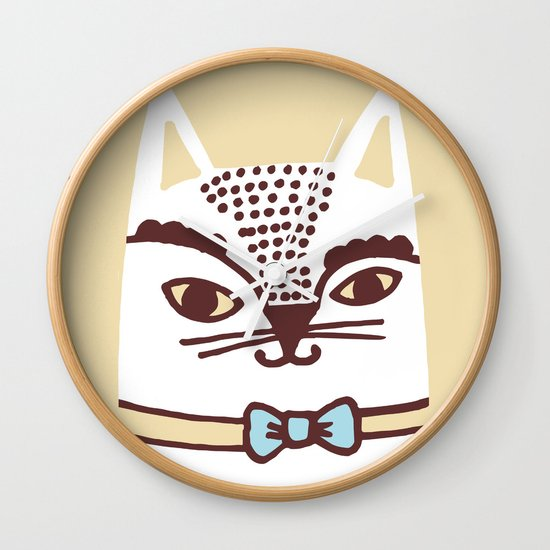 Katze #3 Wall Clock