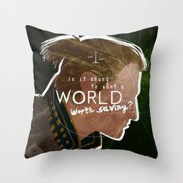 A World Worth Saving Throw Pillow