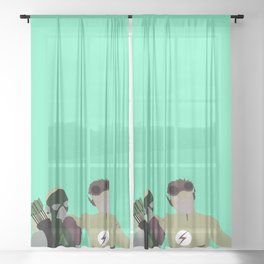 Spitfire Season 1 Minimalism Sheer Curtain