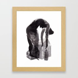 house lady Framed Art Print